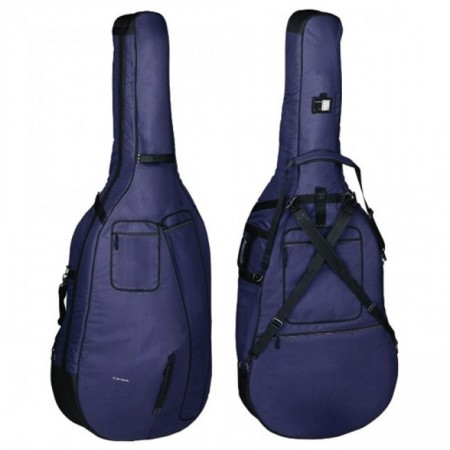 Gewa Premium Blue Double Bass Bag 12mm Padding 3/4
