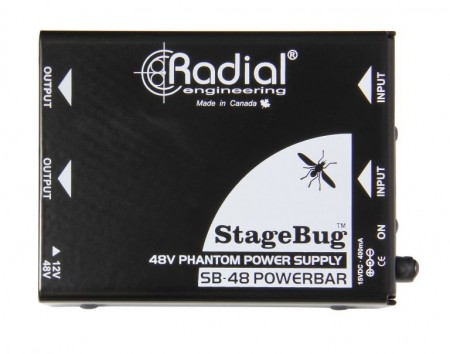 Radial StageBug SB-48 Phantom Power Supply