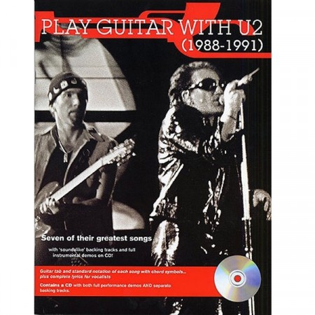 Play guitar with U2 (1988-1991)