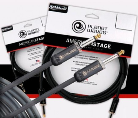 Planet Waves American Stage Instrumentkabel J-J 9m