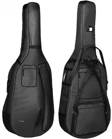 Gewa Double bass gig-bag Prestige 20mm 3/4 Black