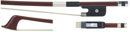 Gewa Double Bass Bow, Brasil Wood, fransk