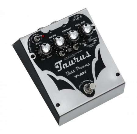 Taurus Bass preamp & Di-Box T-Di