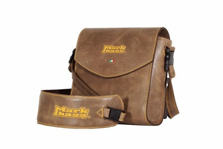 Nano Mark 300 Leather bag brown