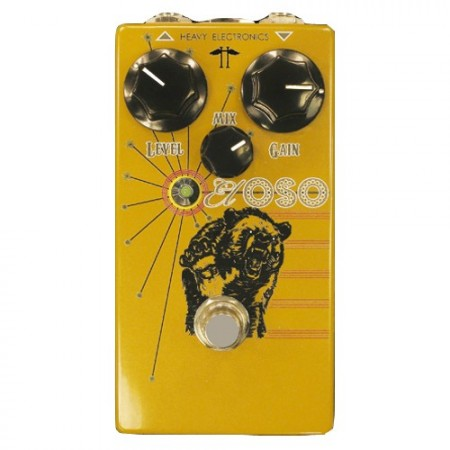 Heavy Electronics - El Oso Bass Distortion Pedal